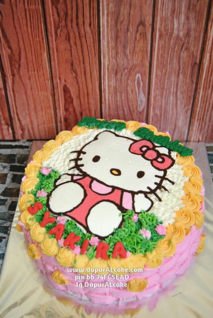 Birthday Cake Hello Kitty Al Cake Kue Ulang Tahun Bekasi