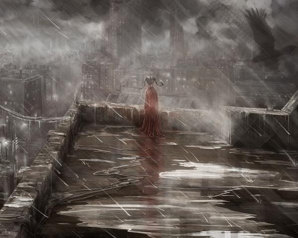 Fantasy Of Horror Landscape, Fantasy Scenes 2