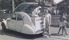Citroën 1960 2 CV Marchand de glaces