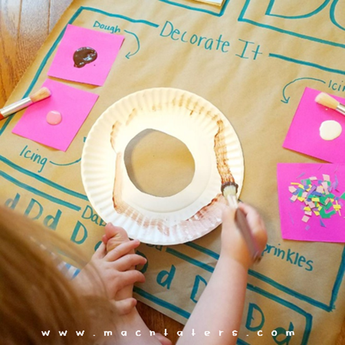 Donut Activity Mat