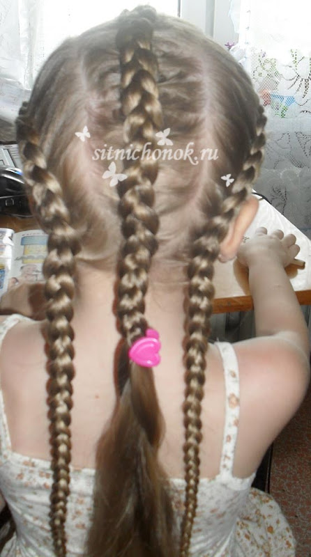 5 Beautiful Butterfly Hairstyle Tutorial For Girls