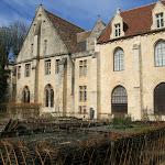 Abbaye de Royaumont : jardin des neuf carrés