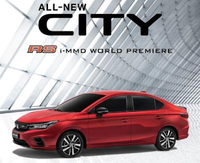 Honda City Terbaru, Akankah Seperti Ini Tampangnya?