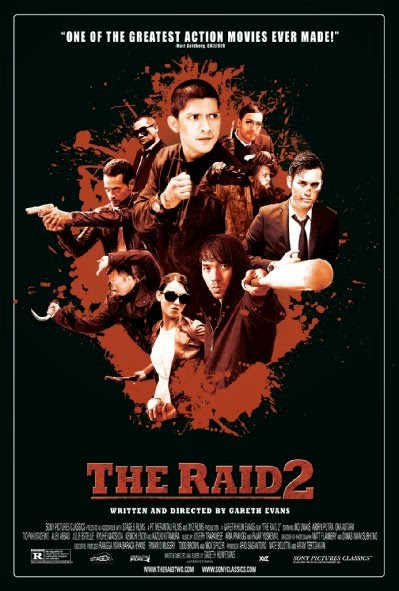 Poster Of The Raid 2 (2014) Full Movie Hindi Dubbed Free Download Watch Online At Alldownloads4u.Com