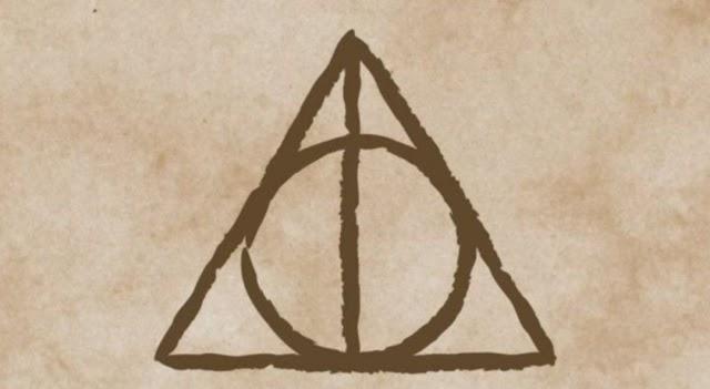 O misterioso símbolo das Relíquias da Morte finalmente explicado por J.K. Rowling