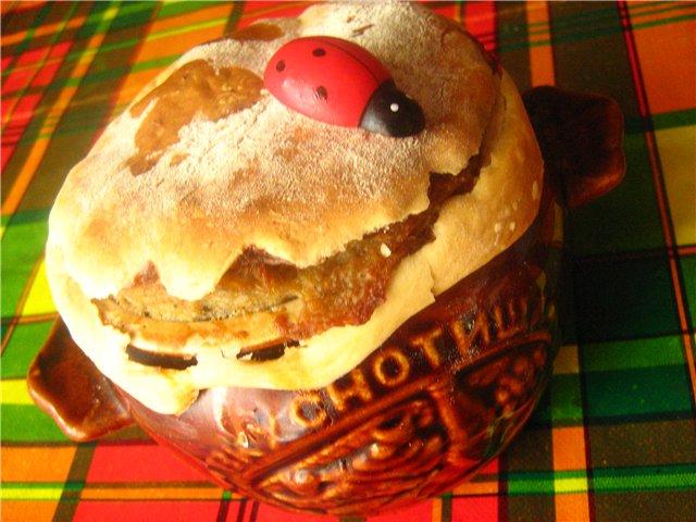 Бабка картофельная в горшочках B197b607e768