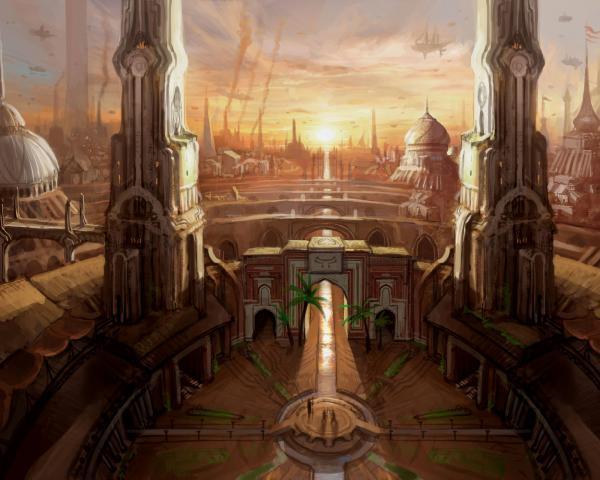 Temple Of War, Magical Landscapes 2