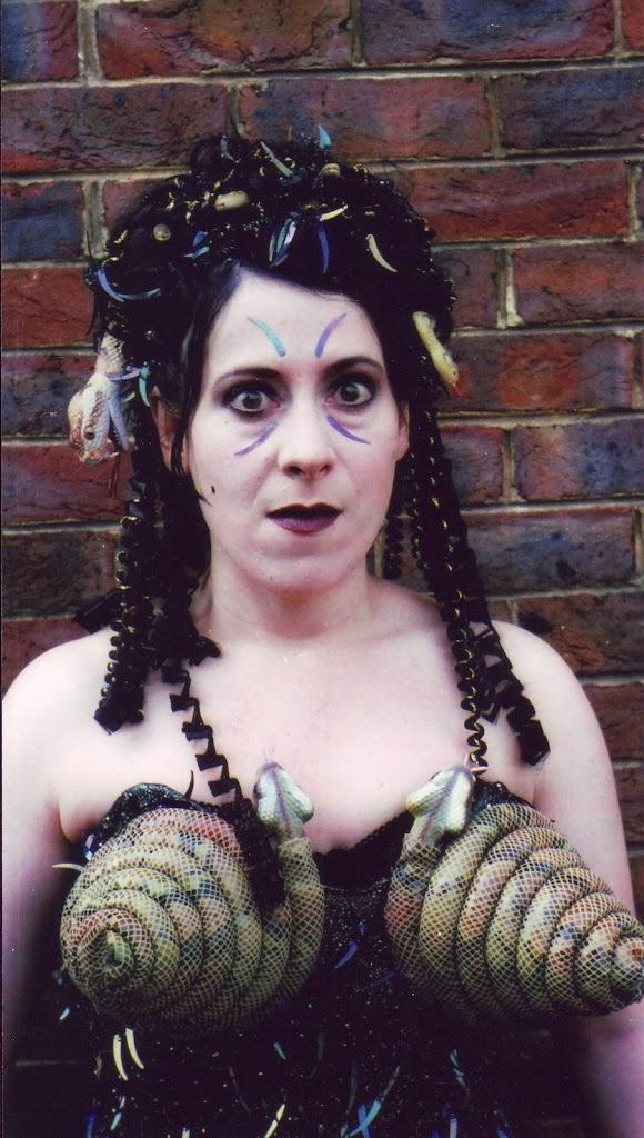 Snake wig