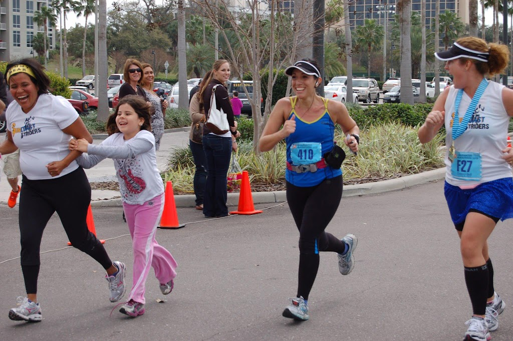 CW Finish3 Clearwater Marathon Recap