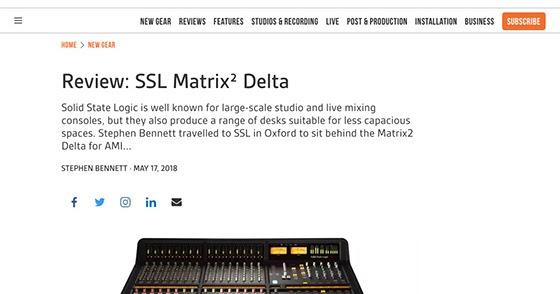 Sound Technology News Blog: Audio Media International review
