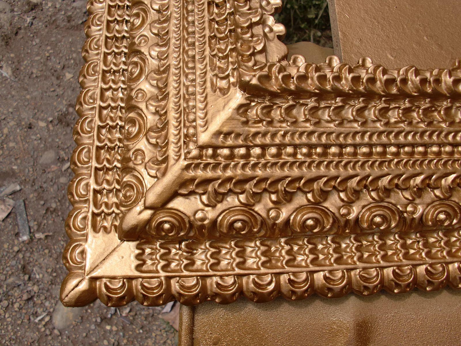 Decoraciones Manualidades En Madera: Imitacion Pan De Oro