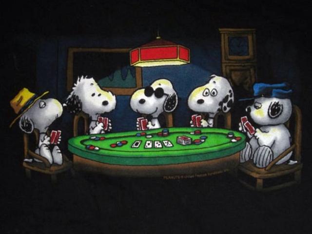 Perros Jugando Poker Original 123 Blackjack Circle Palatka Fl