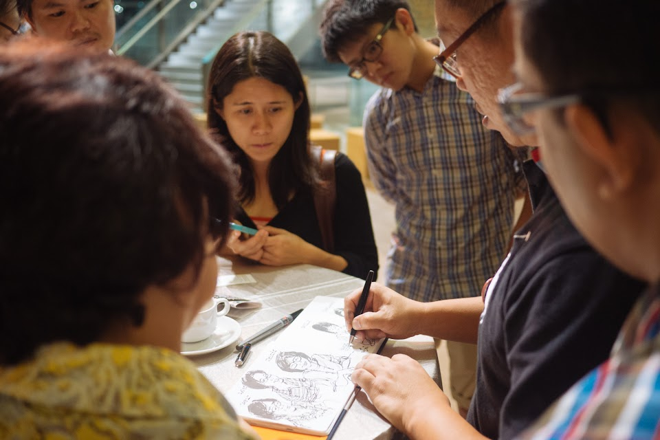 We Drew The World Together Exhibition at Temasek Polytechnic