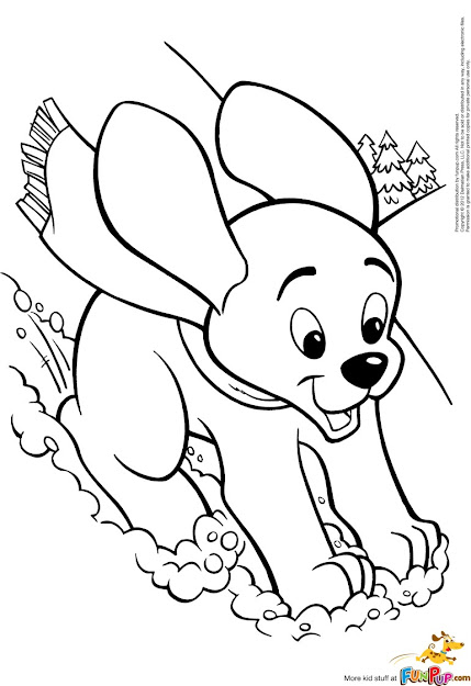Puppy Coloring Pages To Print Hd Co  Puppy