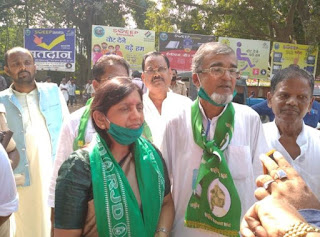 सहरसा/Bihar Election:तीन विधानसभा से 25 प्रत्याशियों ने भरा नामांकन का पर्चा,मेले जैसा दिखा माहौल।