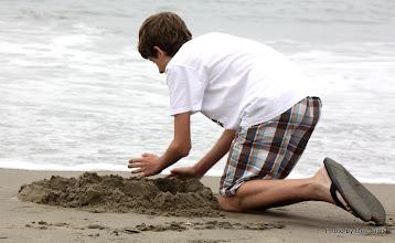 Photo: (Year 3) Day 22 -  Having Fun in the Sand