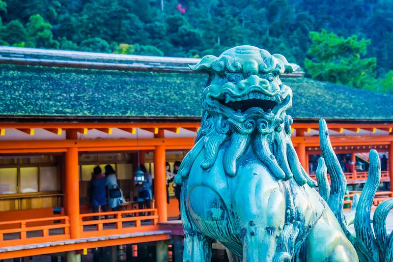 宮島 厳島神社 狛犬