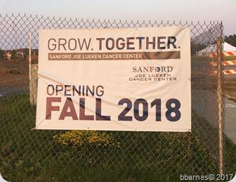 Cancer center sign 07182017