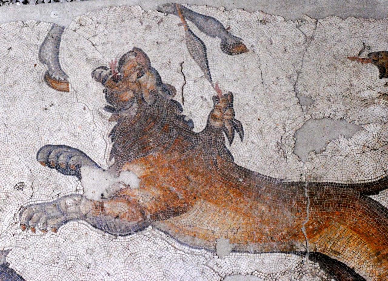 My Photos: Turkey -- Mosaics -- Istanbul -- Mosaic Museum