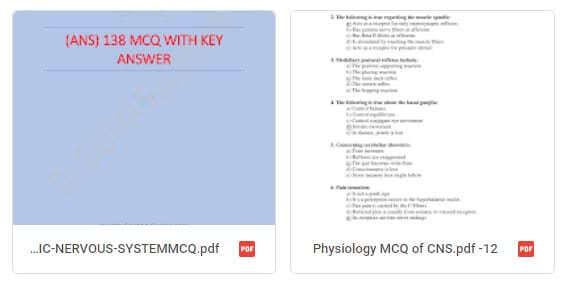 Nervous system MCQ