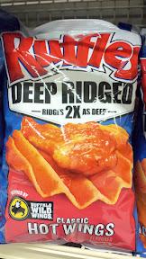 Ruffles Deep Ridged Classic Hot Wings inspired by Buffalo Wild Wings