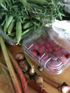 Vegetables from the allotment