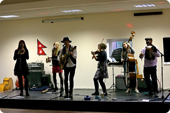 Vervain perform at the fund-raising  music concert
