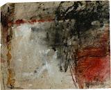 coin rouge / papier t.mixte / 40x50 / 1995