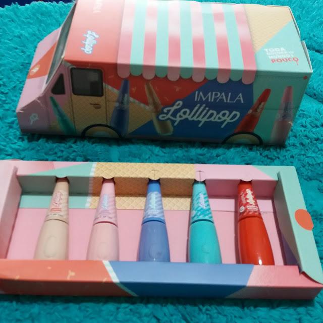 Recebidos da Vez: Coleção Lollipop da Mundial Impala