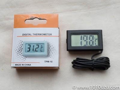 チップセットの温度を測定するための温度計