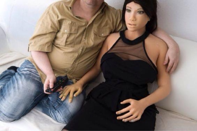 PHOTOS: Checkout How A Man married To A Doll Lives With Her. 1