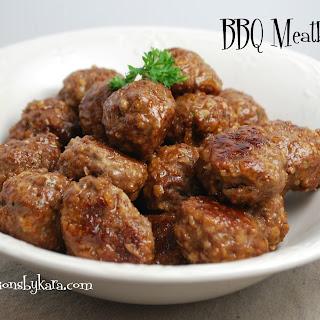Barbecue Meatballs.