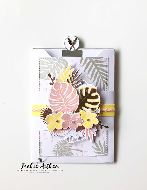 su, stampin up, tropical chic bundle, tropical thinlits