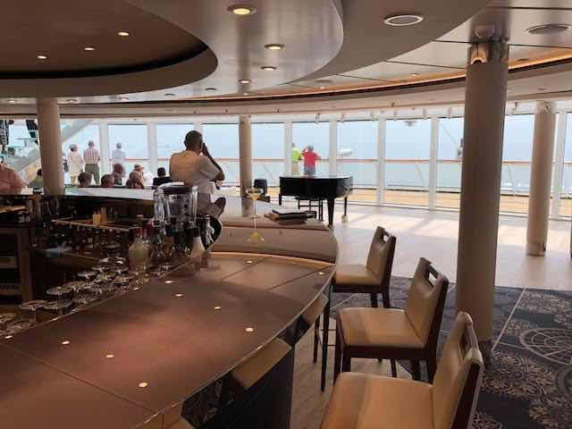 Viking Explorer Lounge view on deck 7