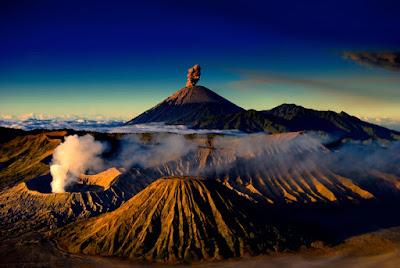 Poseben vulkan Bromo