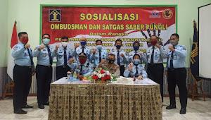 Ombudsman dan UPP Banten Sosialisai Pencegahan Pungli di LPKA I Tangerang