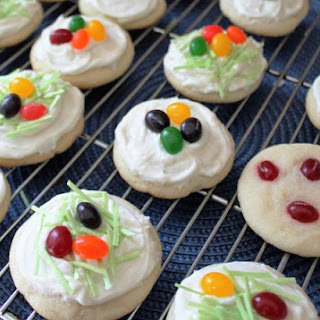 Easter Jelly Bean Cookies.