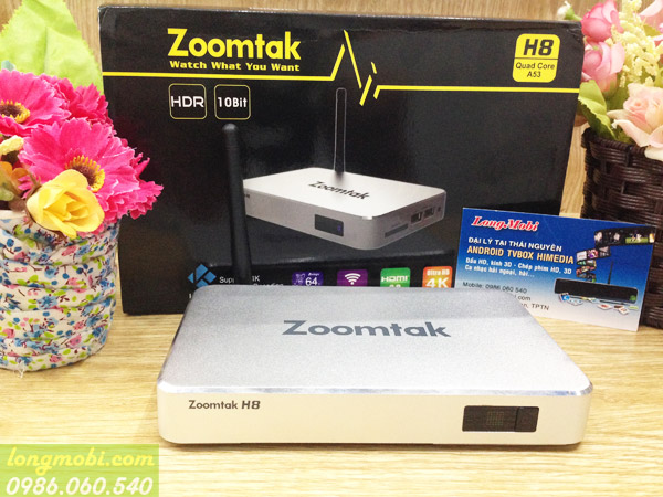 android tv box zoomtak t8h