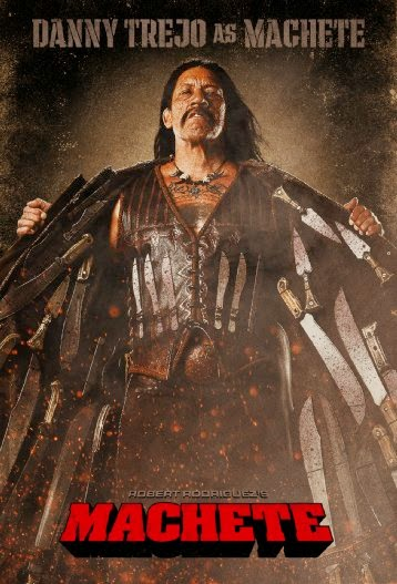 Poster Of English Movie Machete (2010) Free Download Full New Hollywood Movie Watch Online At Alldownloads4u.Com