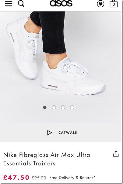 Nike Fibreglass Air Max Ultra on asos