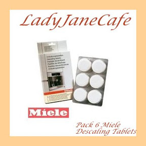Miele Coffee Maker Descaling Instructions : ONE Pack OF 6 Miele Descale Descaling Tablets Miele 5626050 Free Delivery UK eBay