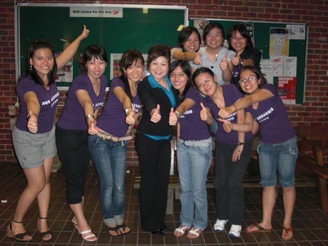 2009 Aerobics Committee Members
