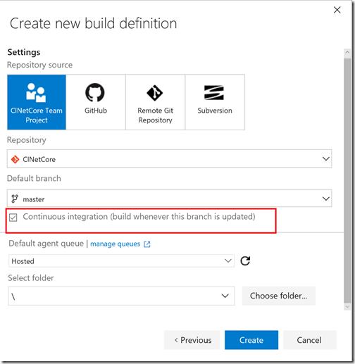build-defintion-git-settings-continuous-integration