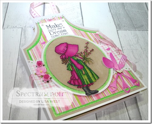 A Gift of Love Apron Card Note Holder (2)