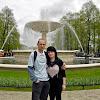 04-05-2013 | Warszawa | Park Saski z Karoliną i fontanną