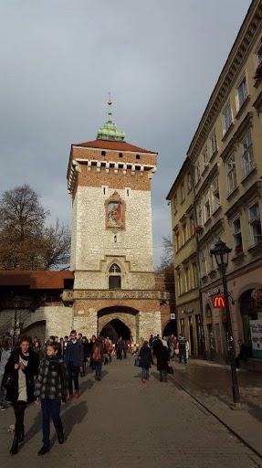 City centre of Krakow Poland