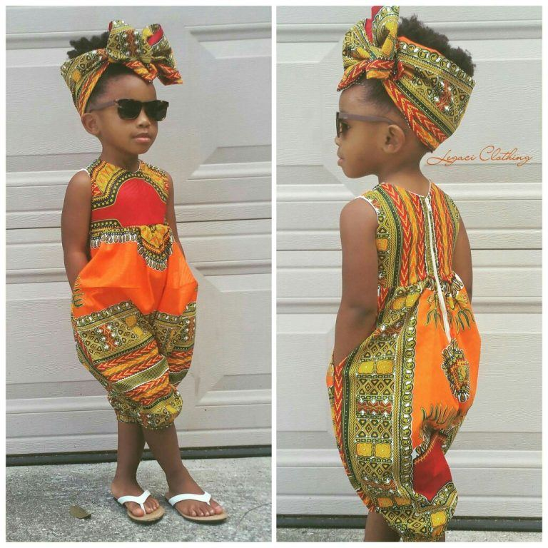 African Dress Styles For Kids How Make Your child LookSpectacular 13