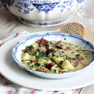 French Country Soup with Toulouse Sausages