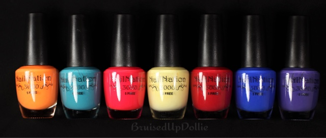 NailNation 3000 polishes