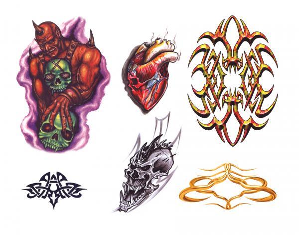 Magick Tattoo Design 9, Fantasy Tattoo Designs
